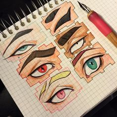 [OFFcell] Character eyes