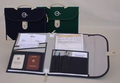 Document bag for boat owners and captains/$95