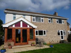 Two storey side extension with attached sun room by Derry Construction Ltd. Mallinson Oval Harrogate 2008