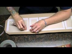 ▶ Mini Album Construction Tutorial of G45 French Country, Part 1 of 2 - YouTube