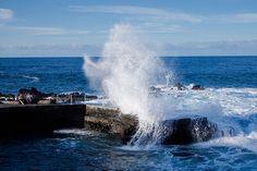Breaking Wave, Tenerife by szeke, via Flickr