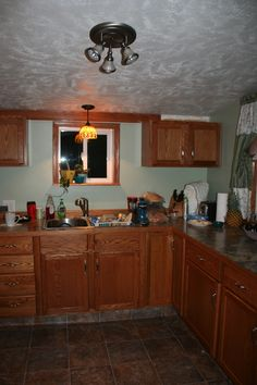 adorable cottage kitchen Kitchen Cabinets, Cottage, Home Decor, Decoration Home, Room Decor, Cabinets, Cottages, Cabin, Home Interior Design