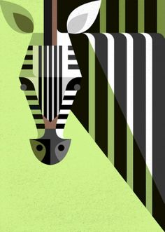 Illustration / Retro Modern African Mammal Illustrations My Modern Metropolis