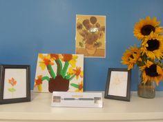 Van Gogh's sunflowers project at Didsbury nursery
