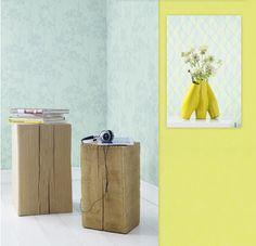 Spreke farger i Glossy tapetkolleksjon. Til å bli glad av! www.fantasi.no