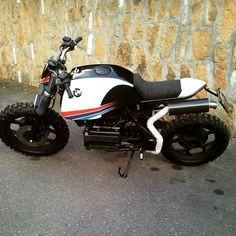 #puzzlegarageroma #bmw #bmwk75 #k #75 #srambler #traker #motociclismo #moto #custom #caferacer
