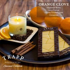 Trapp Orange Clove - Poured Candle: A bottle of perfume in every candle. All Trapp candles, room sprays, & diffusers are guaranteed to fill a room with fragrance or we will replace it. Trapp Candles, Florida Location, Beach Gifts, Holiday Treats, Tis The Season, Palm Beach, Candle Jars, Yummy Treats, Envy