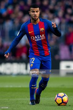 The FC Barcelona player Rafinha Alcantara from Brasil during the La Liga match between FC Barcelona vs UD Las Palmas at the Camp Nou stadium on January 14, 2016 in Barcelona, Spain.