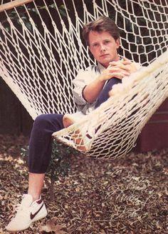 Michael J. Fox Life is a Hammock Michael J Fox Young, Jonathan Lipnicki, Fox Movies, Movie Tv, Stuart Little, Bttf, Marty Mcfly, Tv Actors, Back To The Future