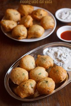 mix dal vada recipe with step by step photos - tasty vadas made from moong dal and urad dal. this mixed dal vada are spongy, porous from inside and crisp from outside. Indian Snacks, Indian Food Recipes, Gourmet Recipes, Vegetarian Recipes, Snack Recipes, Cooking Recipes, Jain Recipes, Cooking Tips, Diwali Recipes