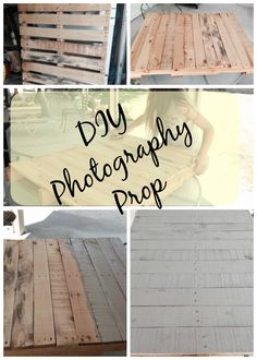 An Easy DIY Photography Prop Step by Step directions to turn a curbside pallet into a backdrop for food photography  #candilandblogs http://adayincandiland.com