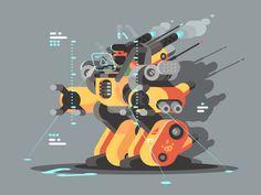 Exoskeleton by Anton Fritsler (kit8)