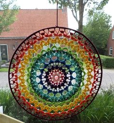 kooppatroon - Gorgeous mandala window hanging. Picture only.
