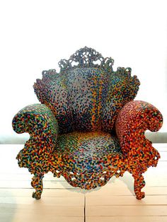 Mendini Chair at MUDE (Museum of Design & Fashion in Lisbon
