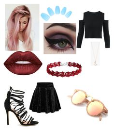 """""""Untitled #15"""" by kawaii-dinosuar on Polyvore featuring Matiko, Lime Crime, Concrete Minerals and Full Tilt"""