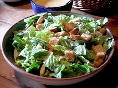 July 4: Caesar Salad Day | Who's the Caesar of Caesar salad? Not the great Roman emperor! The original Caesar salad was invented in the 1920s by Italian immigrant Caesar Cardini.