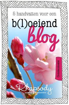 Op je blog kan je lezer kennismaken met jou en wat je aan kennis in huis hebt. Maar hoe vaak blog je nu? Vijf handvatten voor een b(l)oeiend blog.