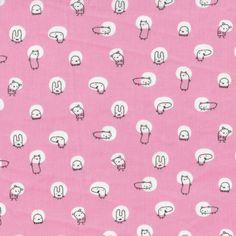 Spotlight Pink from Monsterz by Michéle Brummer-Everett for Cloud9 Fabrics