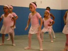 Apresentação de Ballet da Ana Clara parte 1