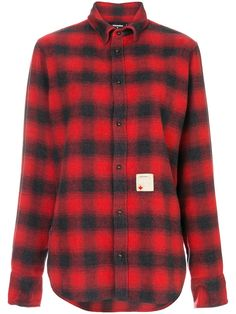 DSQUARED2 DSQUARED2 - RELAXED FIT CHECKED SHIRT . #dsquared2 #cloth #
