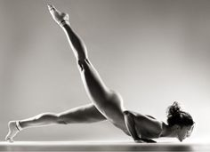 Briohny Smyth...Naked I might say, but one of the most amazing yoga artists in the world!