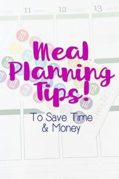 Meal Planning Tips | eBay