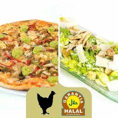 ¿Sabías que el pollo de nuestra Pizza Tex-Mex y el de la ensalada César es Halal? Igual como con las alergias e intolerancias alimentarias, también somos sensibles a las demás culturas. Por ello vamos introduciendo, poco a poco, nuevos productos para que disfrutes de una comida bien hecha elaborada con la mejor combinación de ingredientes naturales en cada uno de nuestros platos. Enjoy it!!!