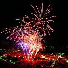 Focs artificials. #xabia #javea #costablanca #fiestas #fuegosartificiales www.xabia.org