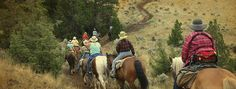 Livingston Outfitting in Wyoming - Summer Vacation Horseback Adventures - Family and Corporate Trips - Fishing and Wildlife