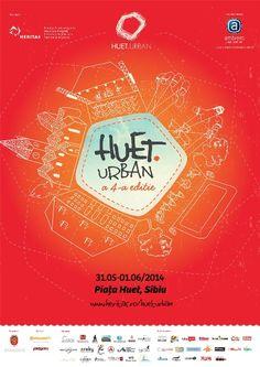 Huet.Urban – a patra ediție la Sibiu