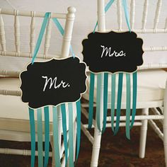 Michaels.com Wedding Department: BRIDES® Chalkboard Sign Wedding chalkboards are a favorite must-have item! Chalkboards are versatile and add a fun element to your reception. Plus, they're re-usable!