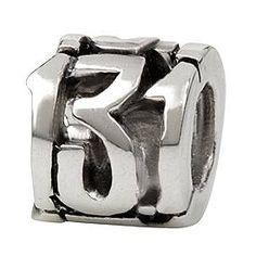 Sterling Silver 13.1 Half Marathon Bead