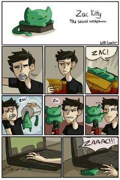 Zac Kitty!
