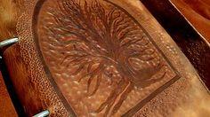 Svatava / Zápisník z hovädzej kože A4