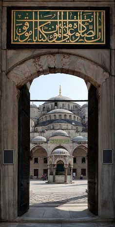 The Blue Mosque, Istanbul, Turkey www.yourcruisesou… The Blue Mosque, Istanbul, Turkey www. Mosque Architecture, Art And Architecture, Ancient Architecture, Amazing Architecture, Beautiful Mosques, Beautiful Places, Blue Mosque Istanbul, Turkey Travel, Ottoman Empire