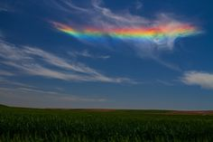 Rainbow in Ritzville, Washington. Photo by easyshare. For more photos, visit wunderground.com