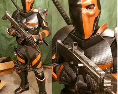 Deathstroke V1 Costume Cosplay foam templates
