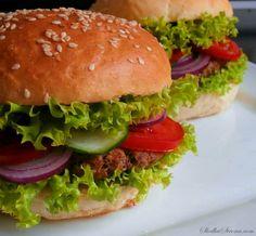Słodka Strona: Domowe Hamburgery