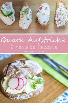 Wer gerne ein paar Quark Rezepte kalorienarm und gesund hat, der ist hier richtig. Mit Gewürzen kannst du ganz einfach einen Quark Aufstrich zubereiten. Hier gibt's die besten Rezepte für Aufstrich mit Quark herzhaft und lecker! #quark #aufstrich #rezepte #brotzeit #jause
