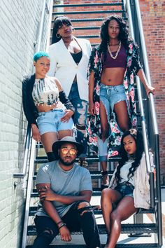 BLACK FASHION  Members of ICONic Productions  Ages 19-22  Greenville, NC  Clothing by H&M, Urban Outfitters, Nordstorms, Forever21, Charlotte Russe, Rue21, Value Village, Vans, Belk, & Target  Submitted by blxkparadox  Photography/Edits by Jay & Hailey