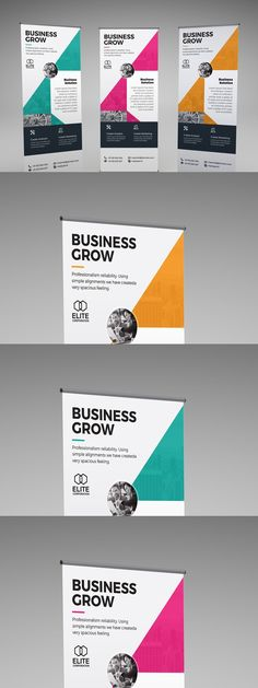Corporate Business, Banner Template, Cards Against Humanity, Layout, Templates, Stencils, Page Layout, Vorlage, Models