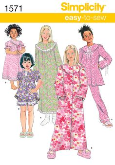 Simplicity Creative Group - Child's and Girl's Loungewear Separates