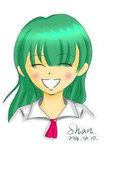 本日練習 微笑女孩 - shan790213的創作 - 巴哈姆特
