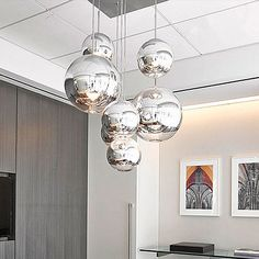 Modern Nordic Glass Globe Pendant Lights Chrome Ball Pendant Lamp Restaurant Kitchen Light Fixture avize luminaria Home Lighting(China (Mainland)) Globe Pendant Light, Cheap Pendant Lights, Modern Pendant Light, Pendant Light Fixtures, Pendant Lamp, Pendant Lighting, Kitchen Lighting Fixtures, Ball Lights, Glass Globe