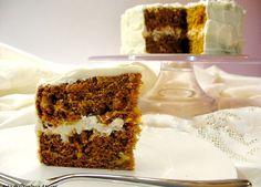 Torta di carote e zenzero farcita al mascarpone | SICILIANI CREATIVI IN CUCINA | di Ada Parisi