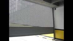 Punched Rolling Shutter Bangalore / See Through Rolling Shutter Rolling Shutter, Shutter Designs, Living Room Tv Unit Designs, Roller Shutters, Shutter Doors, Skylight, Door Design, Farm House, Rolls