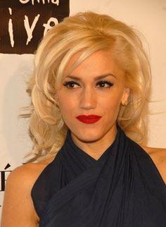 Gwen Stefani - perfect bangs, perfect volume!