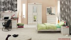 white teen room design for boys  Beautify Your Young Son's or Daughter's Bedroom According To Their Interest