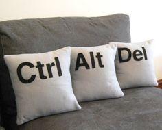 Geeks need pillows too ;)