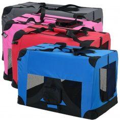 [pro.tec] Trasportino pieghevole box per cani (da S fino a XXXXL) (in 4 colori diversi) 33,00 € Cage, Dog Cat, Sisal, Minion, Hobby, Knitted Baby Cardigan, Transportation, Dogs, Gatos